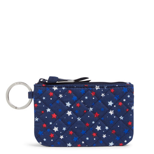 Vera Bradley Zip ID Case Star Spangled