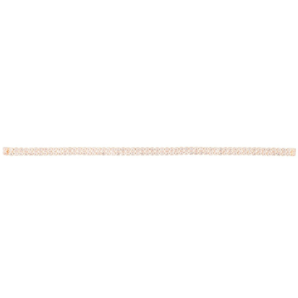Rose Gold Diamante Multi Layer Choker