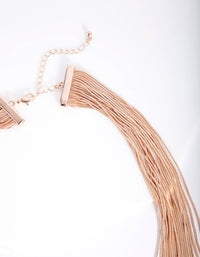 Rose Gold Drape Cutchain Necklace - link has visual effect only