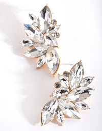 Marquise Statement Stud Earring - link has visual effect only