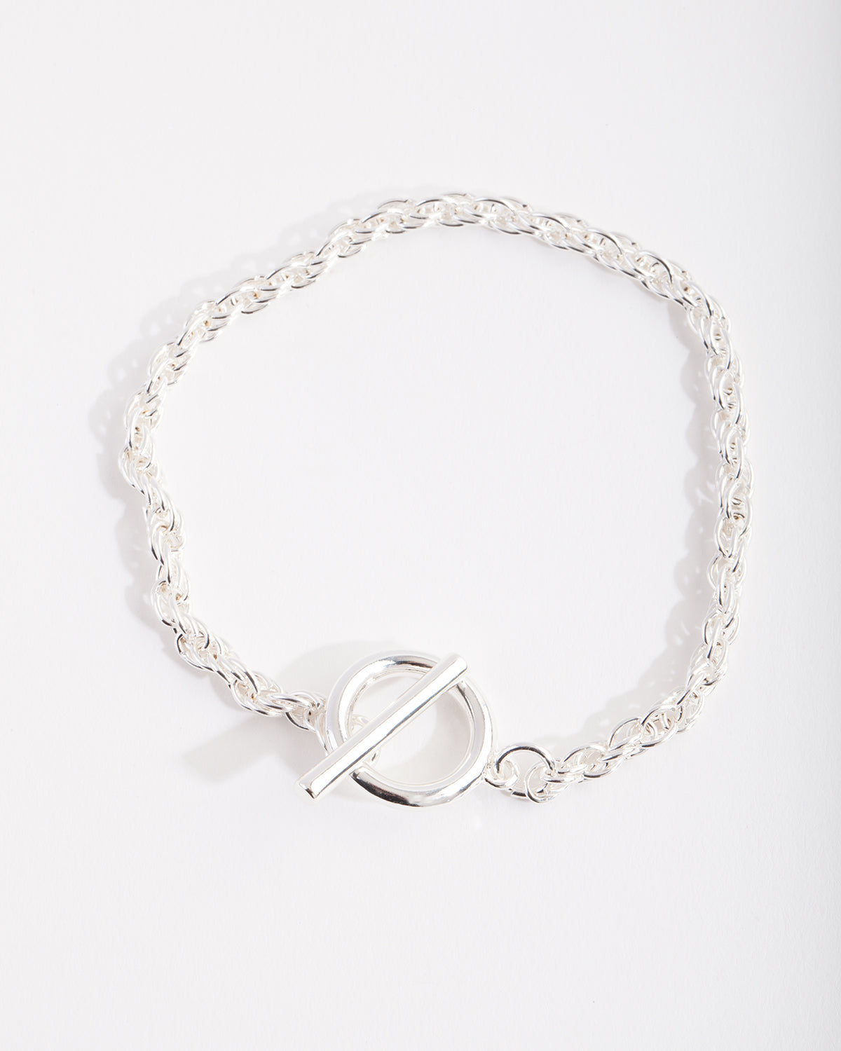 Real Silver Plated T&O Bracelet