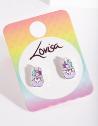 Kids Pretty Llama Earring - link has visual effect only