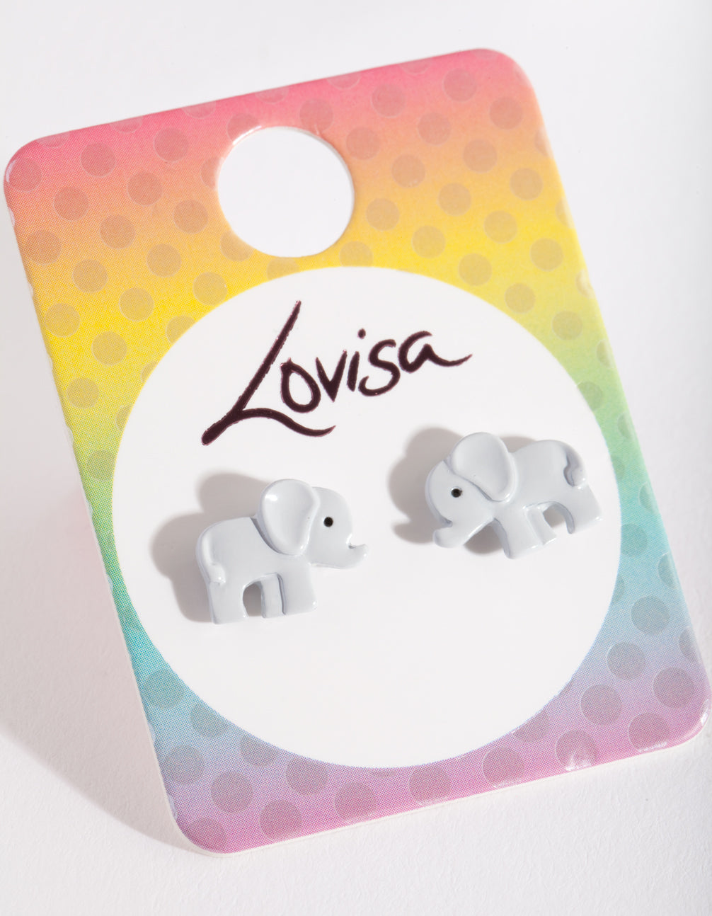 Kids Elephant Stud Earring