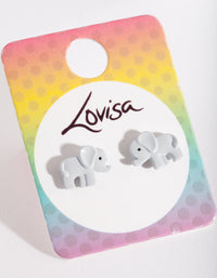 Kids Elephant Stud Earring - link has visual effect only