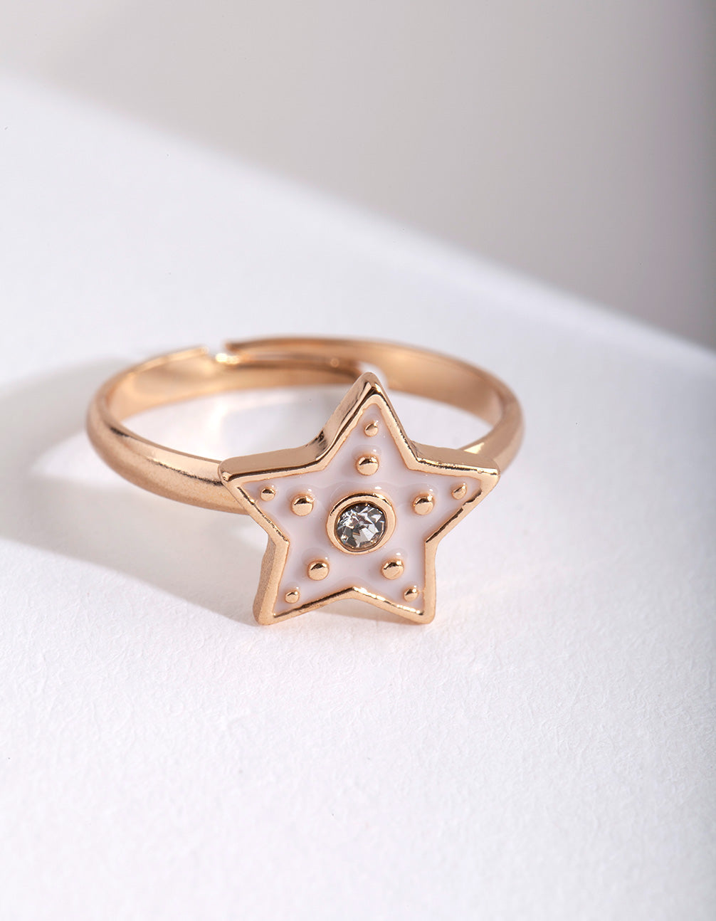 Kids Pink Star Ring