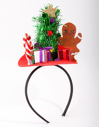 Gingerbread Man Party Headband - link has visual effect only