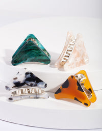 Acrylic Multi Mini Claw Clip Pack - link has visual effect only
