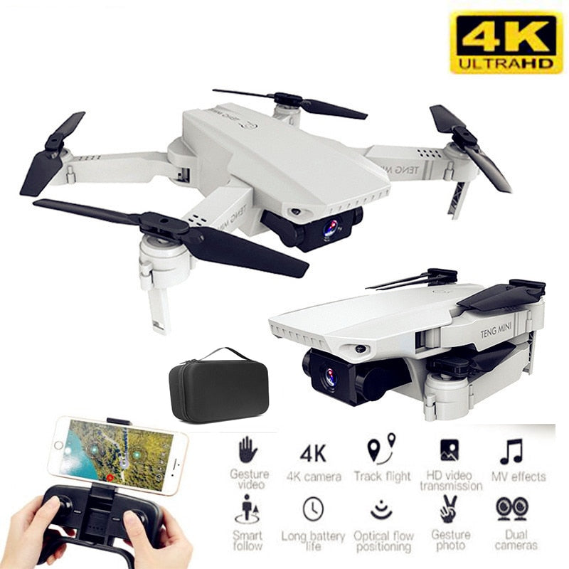 RC Mini Foldable Drone with 4K HD Camera
