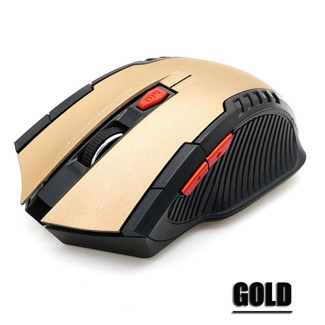 2.4GHz Wireless Mouse With USB Receiver
