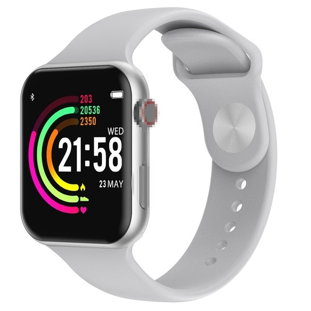 Full Touch Screen Heart Rate Tracker Smart Watch
