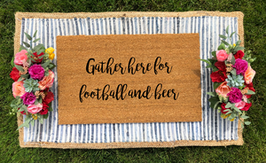 Gather Here for Football & Beer