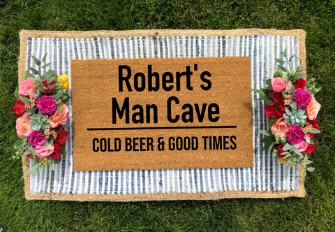Create Your Own- Man Cave Doormat