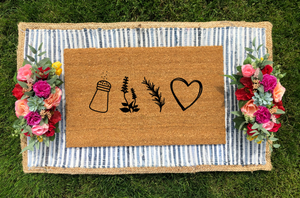 Practical Magic Inspired Doormat