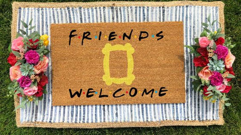 Friends Inspired Doormat
