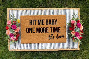 Britney Spears - Hit Me Baby One More Time Doormat