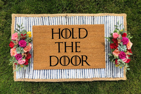 Game of Thrones Hold the Door Doormat