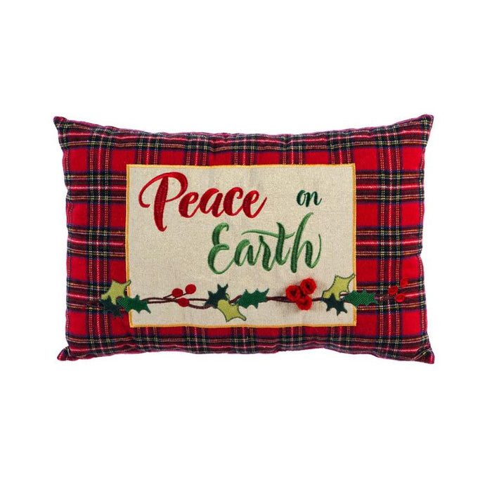 Peace on Earth Lumbar Pillow