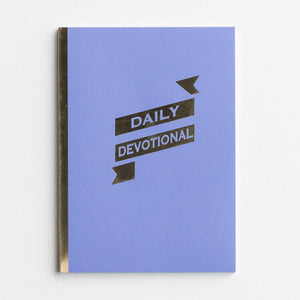 Daily Devotional - Agenda Planner Jotter with Pocket Holder Insert