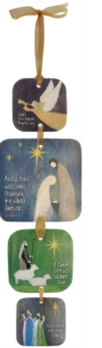 O Holy Night Wall Hanging