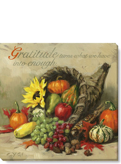 Inspirational Cornucopia Wall Art