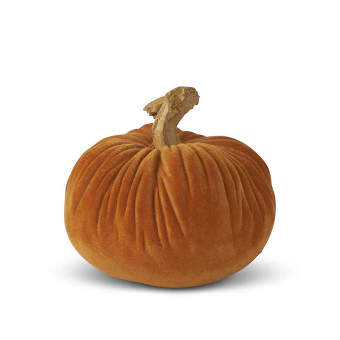 Orange Velvet Pumpkin