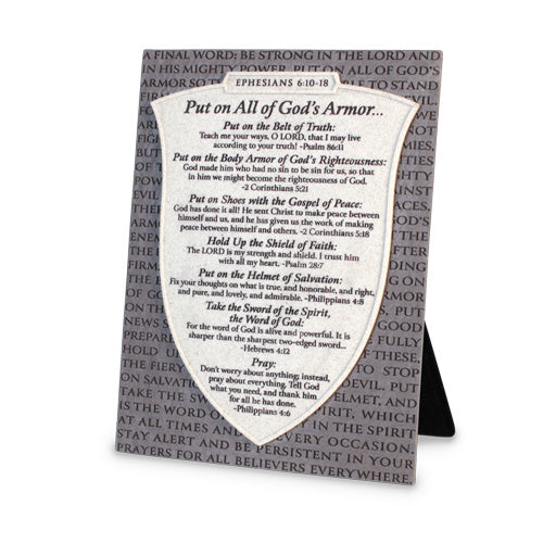Armor of God Plaque