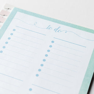He Fills My Life with Good Things - Agenda Planner Memo Pad Insert