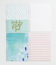 Load image into Gallery viewer, Each Day Is a Gift from God - Agenda Planner Pocket Inserts, Set of 4