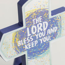 Load image into Gallery viewer, The Lord Bless You - Desktop Cross