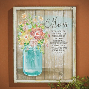 Wall Plaque - Mom