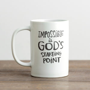 God's Starting Point - True and Write Mug