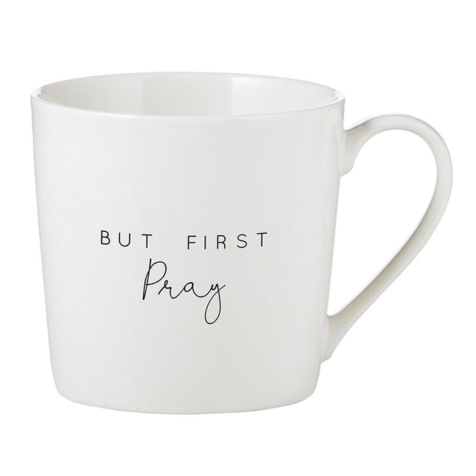 Café Mug - But First Pray