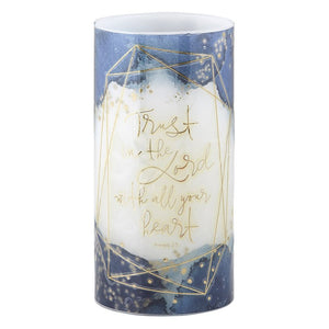 LED Candle - Trust in the Lord with All Your Heart Proverbs 3:5