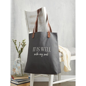 Tote Bag - It Is Well With My Soul Tote