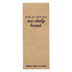 Meal Planner - Our Daily Bread