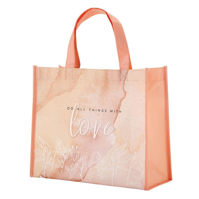 Heart And Soul Tote - Do All Things With Love
