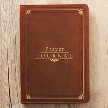 Load image into Gallery viewer, The Lord's Prayer LuxLeather Prayer Journal - Matthew 6: 9-13
