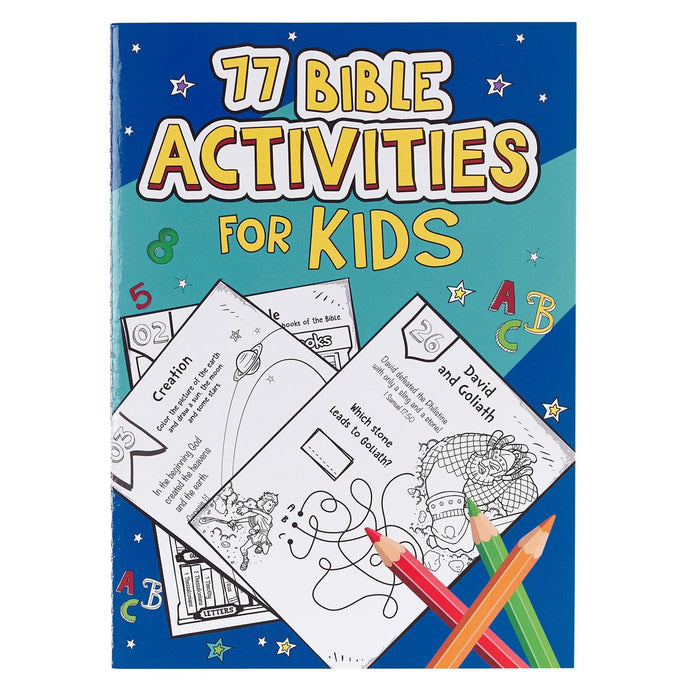 77 Bible Activities for Kids