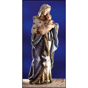 "8""H Madonna and Child Statue"