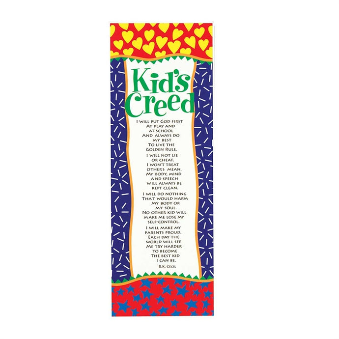 Kids Creed Plaque