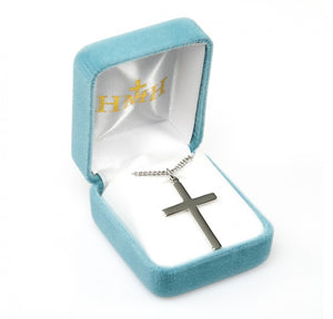 Sterling Silver Plain Cross