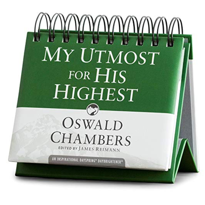 DaySpring Oswald Chambers - My Utmost For His Highest - Perpetual Calendar