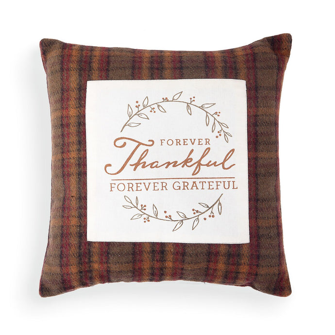 Forever Thankful Pillow