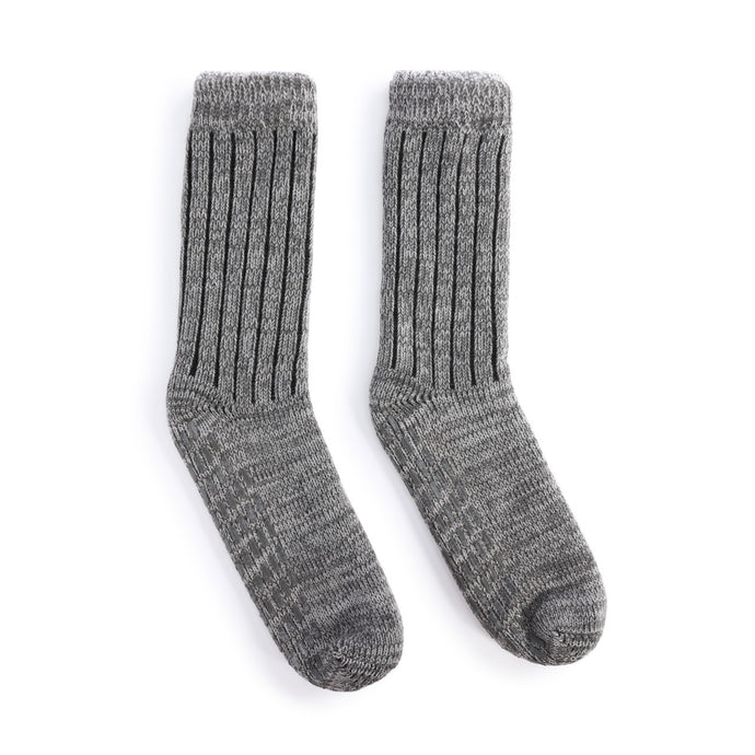 Giving Collection Men's Slipper Socks in Gray