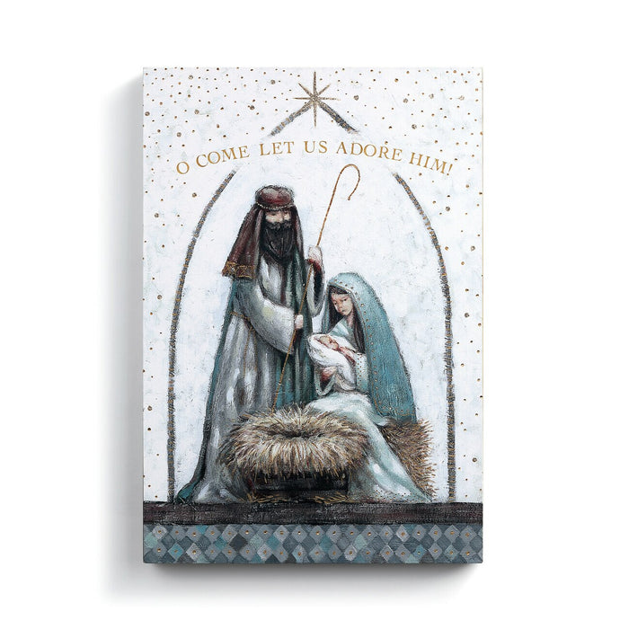 Holy Family Canvas Wall Art