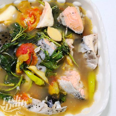 Salmon Head and Tail Sinigang Set (Approx. 800g-1 kg.)