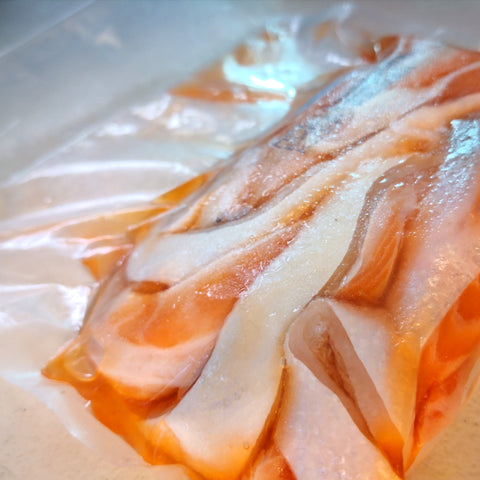 Salmon Belly Strips (Approx. 500g Pack)