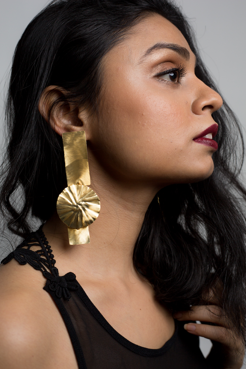 Block Bar Earrings - Ssoul Eternal You
