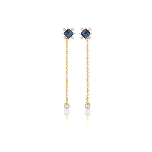 Blue Weightless Earrings - Ssoul Eternal You