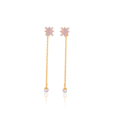 Rose Weightless Earrings - Ssoul Eternal You